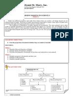 SCIENCE 5 MODULE Q1-WEEK 1-2