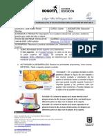 GUIA EDUCACIÓN FÍSICA QUINTO SEMANA 13 y 14 (3 periodo)