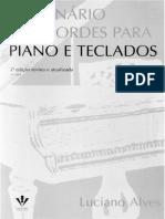 Dicionário de Acordes Para Piano e Teclado Luciano Alves