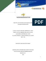 TALLER TECNICAS DE NEGOCIACIÓN