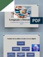 Lenguaje y literatura 2020