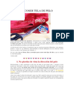 TIPS PARA COSER TELA DE PELO