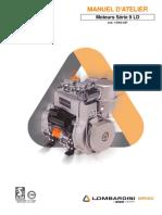 Manuel de reparations moteurs Série 9 LD