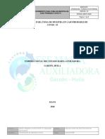 PROCEDIMIENTO PARA TOMA DE MUESTRA EN CASO PROBABLE DE COVID - 19