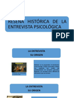 SEMANA 1-TECNICAS DE ENTREVISTA Y OBSERVACIÓN