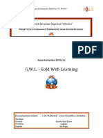 progetto gold web learning 2011