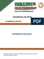 CLASE 11-ESTADISTICA EN EXCEL (1)