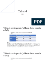 Taller 4 MBE