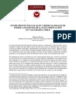 LOS INICIOS DE LA ELECTRIFICACION EN VALPARAISO_MARION STEINER