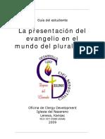 La presentación del Evangelio en el mundo del pluralismo Estudiante.pdf