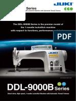 JUKI  DDL9000B - 2015