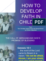 HOW TO DEVELOP FAITH IN CHILDREN -  Copy.pptx