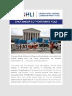 USHLI - DACA Under Authoritarian Rule