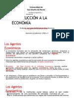 Los Agentes Económicos - Introducción a la Economía - USMP - 2020 - VIRTUAL-convertido.pptx