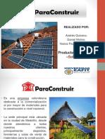 Presentación Panel Solar