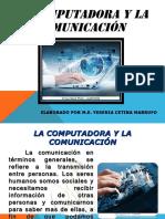 la computadora y la comunicacion
