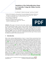 Modeling and Simulation of the Defuzzification Stage of a Type-2 Fuzzy Controller Using the Xilin