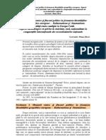 Identitati Geopolitice Europene