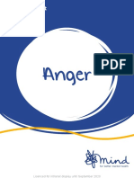 How to deal with anger (Mind e-booklet)