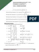 unit3 Fourier_Transforms