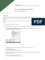 Ejecute PowerPoint con privilegios elevados - Centro de soporte de complementos de Office Timeline.pdf