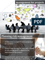 PCRM Lecture 02 - Planning Risk Managment for Projects