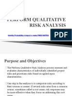 PCRM Lecture 4 - PERFORM QUALITATIVE RISK ANALYSIS 1