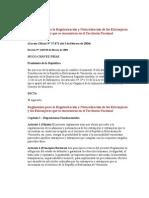 reglamento para la regularización y naturalización de los extranjeros y las extranjeras que se encuentran en el territorio nacional