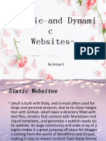 -Static and Dynamic Websites.pptx