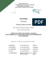 Effet d'agregats legers à base de PET sur les proprietés des mortiers.pdf