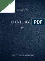 Platon. - Dialogos IV [1986]