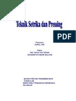 TEKNIK SETRIKA DAN PRESSING