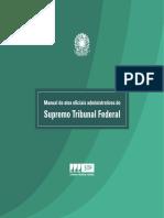 Manual De Atos Oficiais do STF