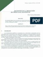 3-ERRORES FRECUENTES EN REDACCION DE ART CIENTIFICOS