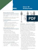 50-125 Kotron RF Sensing Probes