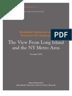 Long Island Index Survey 2011