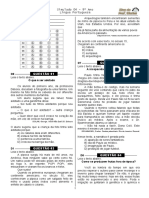 Simulado 4  (Port. 9º ano - Blog do Prof. Warles)