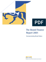 Brand Finance Report 2001