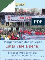 O Trabalhador da CML Nº 143 - Janeiro/Fevereiro 2011