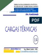 Clase Cargas Térmicas 1 de 4