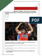 Quién es Gerardo Bedoya, el jugador _más sucio_ de la historia del fútbol (y la persona _con el corazón más grande_ fuera de la cancha) - BBC News Mundo