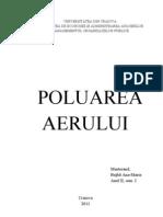 Poluarea aerului Dreptul Mediului