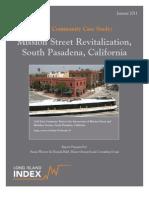 Case Study South Pasadena TOD