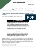 CALADO DE PRESION ALTA BOMBA  DE DIRECCION.pdf