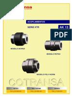 Catalogo Acoplamientos Rotex KTR