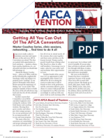 2011 AFCA Convention Guide