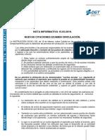 DGT_Bizkaia NUEVAS ZONAS DE EXAMEN  v.2 2019