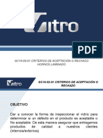 GC10-02-01 Criterios de Aceptación y Rechazo (Hornos)