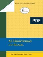 As Fronteiras do Brasil FUNAG