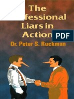 The Professional Liars In Action - Dr. Peter S. Ruckman 15 pgs